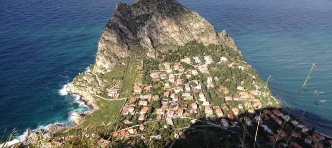 Capo Zafferano – vista dall'alto